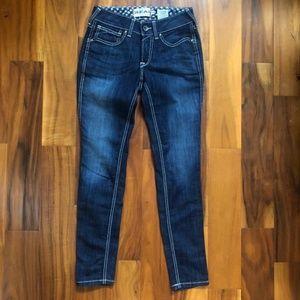 Ariat REAL Denim Jeans Skinny Size 28 R